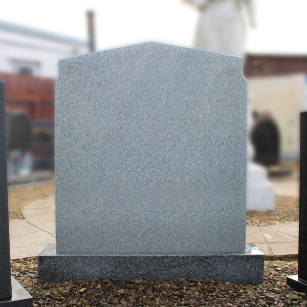 Large Grey Peon Top Headstone