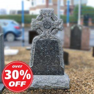 Granite Celtic Cross Lawn Memorial