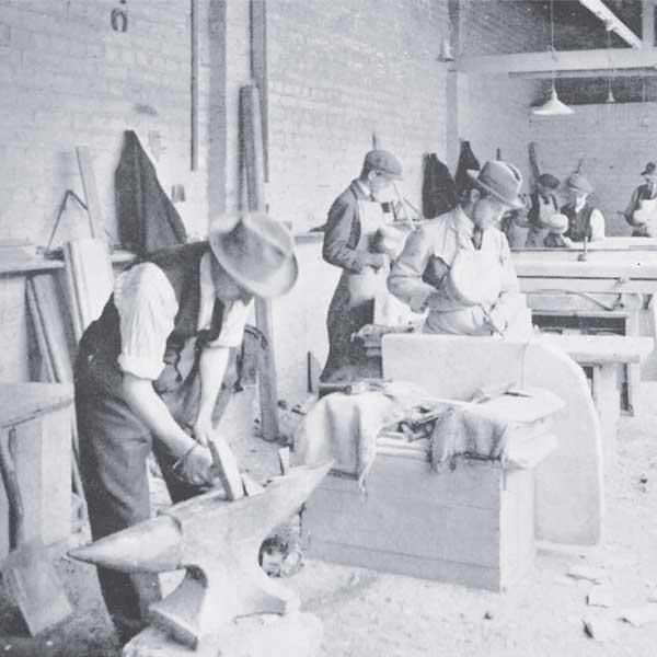 Mossfords expert stonemasons hard at work