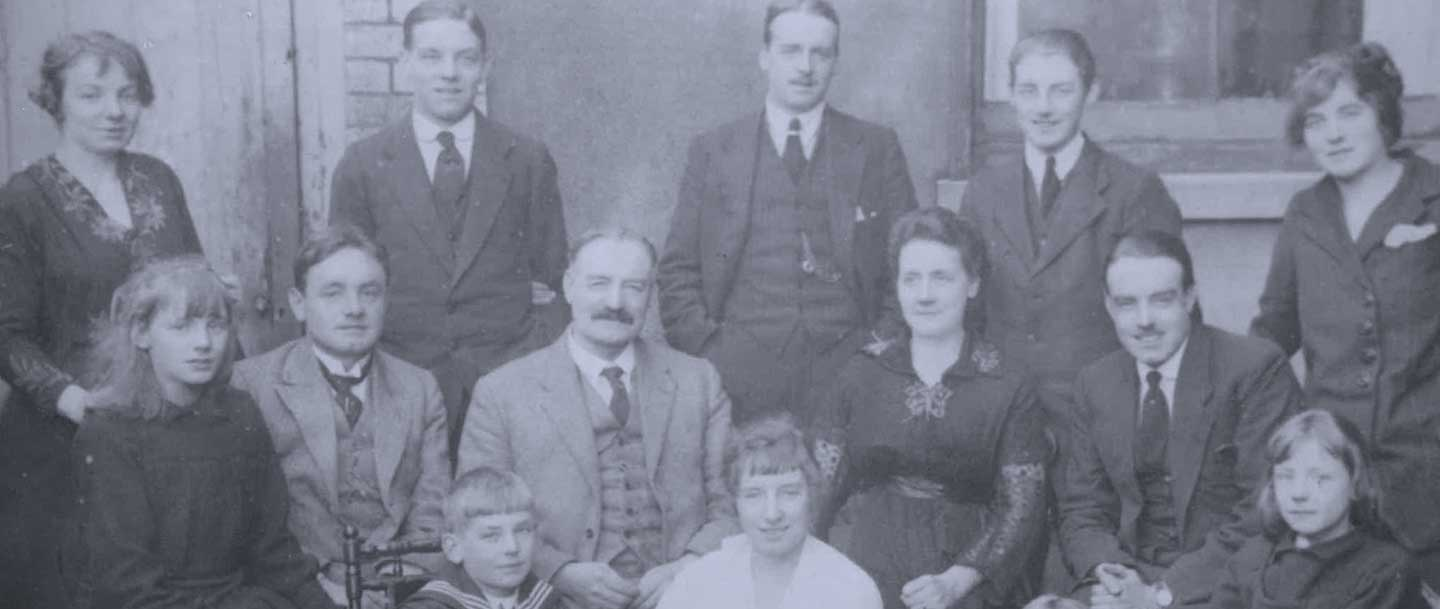 The Mossfords family of expert stonemasions