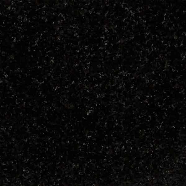 Black granite material
