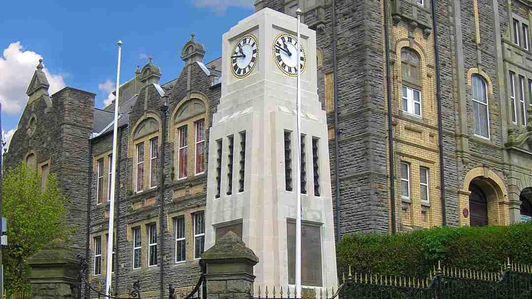 Blaenavon War Memorial Clock Tower